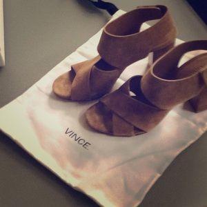 Vince Farrah Suede sandals